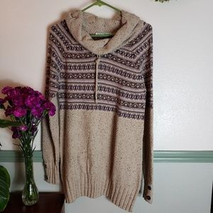 Maurice's Cowl Neck Pullover Sweater